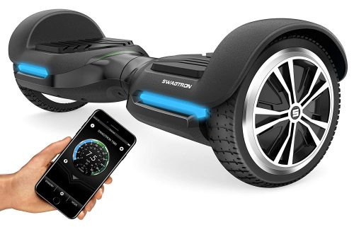 Swagtron T580 Youth Bluetooth Hoverboard with Speaker Smart Self Balancing Wheel