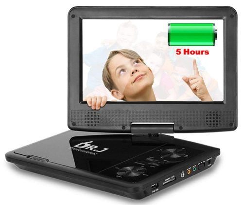 THZY 5 Hours 9.5 inch Swivel Screen Portable DVD Player