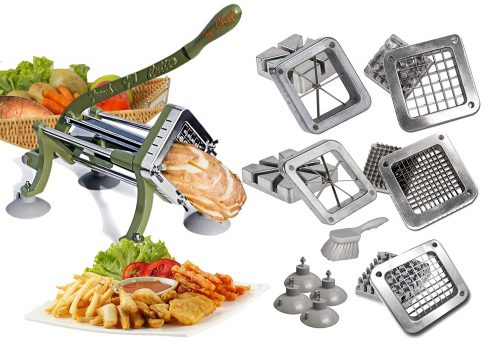 TigerChef commercial french fry cutter Heavy Duty Grade French Fry Cutter