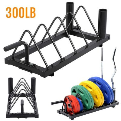 #8. Yaheetech Horizontal Rack Holder
