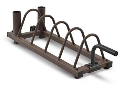 #4 Steelbody Plate and Olympic Bar Rack Organizer