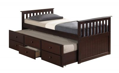 6. Broyhill Kids Marco Island Captain's Bed: