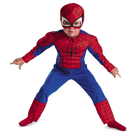 2.  Disguise Marvel Spider-Man Costume: