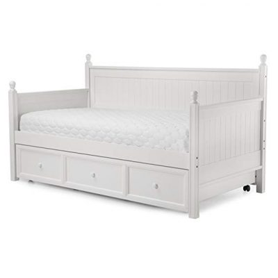 8. Casey II Wood Daybed with Roll Out Trundle Drawer: