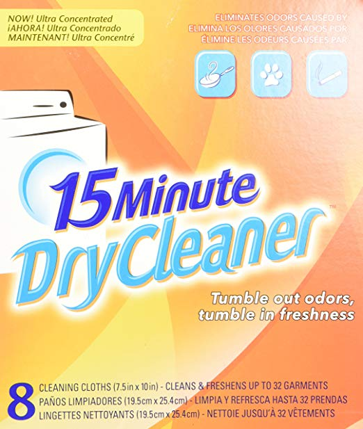 3. Bounce 15-Minute Dry Cleaner: