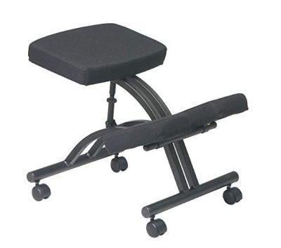 6. Office Star Ergonomic Knee Chair: