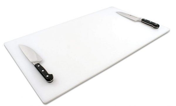 Commercial Plastic Cutting Board, Extra Large 30 x 18 x 0.5 Inch