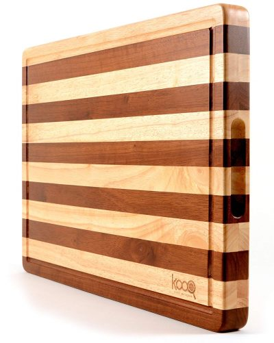 PREMIUM - The Most Beautiful Two-Tones Chopping Block and Serving Board