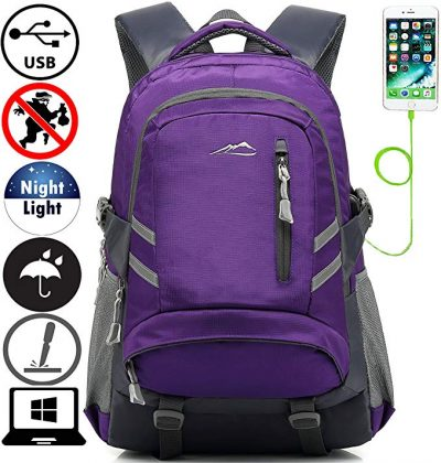 ProEtrade Backpack Bookbag For School College Student: