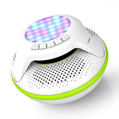 COWIN Swimmer IPX7 Floating Bluetooth Speakers: