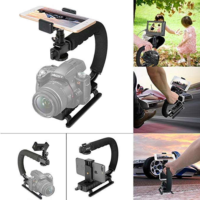 3. 4-in-1 Smartphone+Action Camera+Camcorder+ DSLR Camera Stabilizer from Fantaseal: