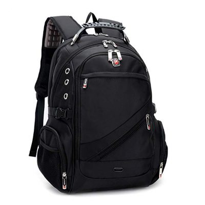 CLELO Waterproof Laptop Backpack School Bag: