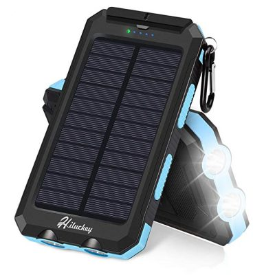 Hiluckey Solar Power Bank