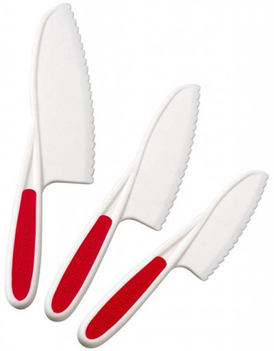 StarPack Nylon Kitchen Knife Set (3 Pieces):