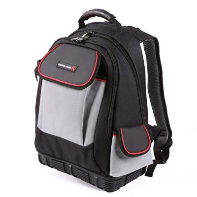 IRONLAND 0304 Tool Backpack Bag with Tool Wall:
