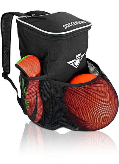 Soccer Backpack with Ball Holder Compartment: