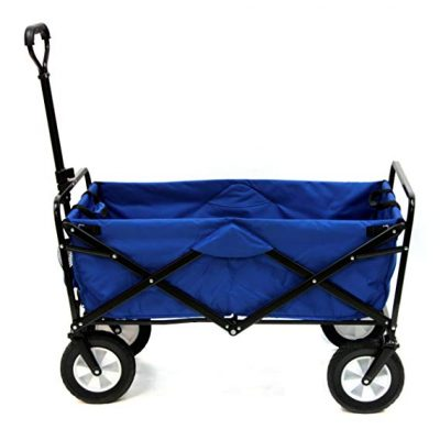 Mac Sports Collapsible Outdoor Utility Wagon (Blue):