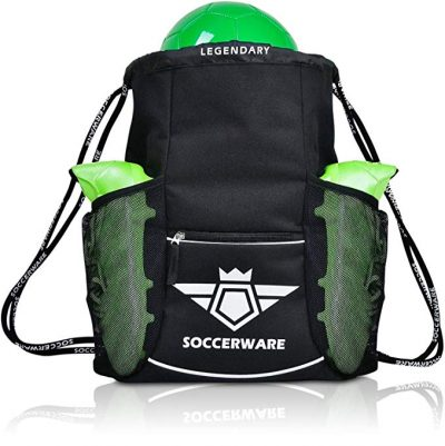 Soccerware Soccer Bag Backpack for kids and youth: