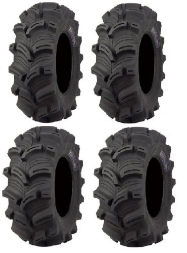 Kenda Executioner (6ply) 26x10-12 and 26x12-12 ATV Tires (Full set of 4):