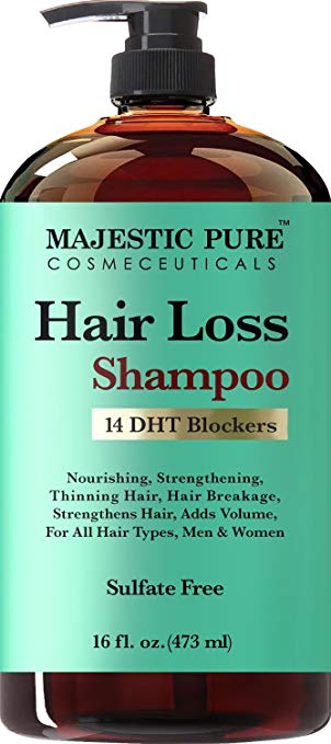 3. Majestic Pure Hair Loss Shampoo: