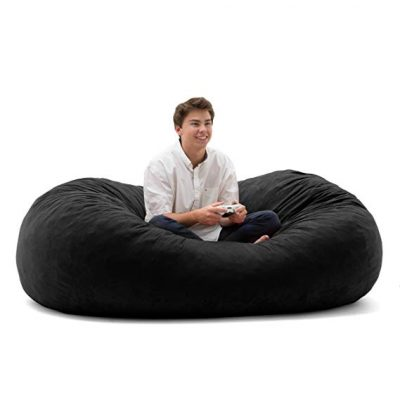 Big Joe XL Fuf Foam Filled Based Bean Bag Chair: