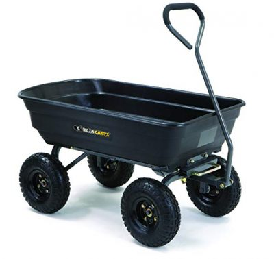 3. Gorilla Carts GOR4PS Cart with Steel Frame: