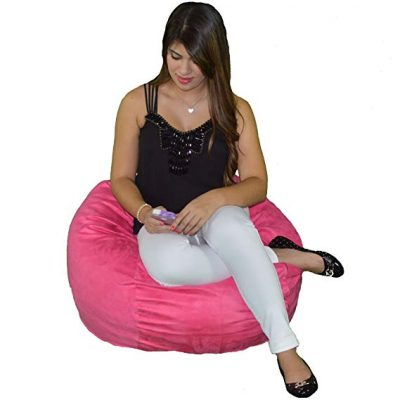Kids Bean Bag Chair Premium Cozy Foam: