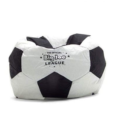 3. Big Joe Soccer Bean Bag Equipped with Smart Max Fabric: