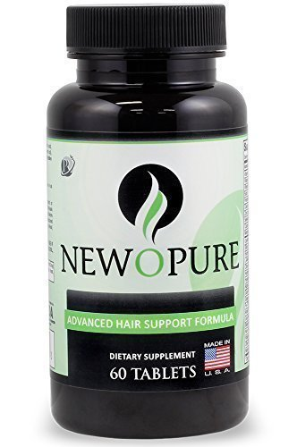 Newopure: Natural Hair Growth Vitamins: