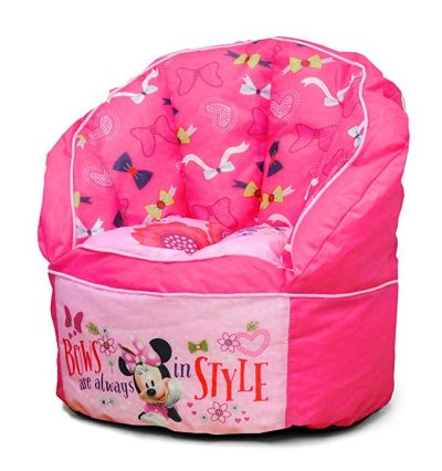 Disney Minnie Designed Toddler Bean Bag Chair: