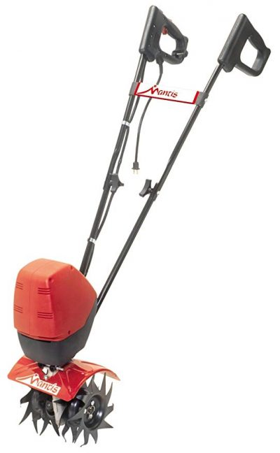 Mantis 7250-00-03 Corded Electric Tiller with Touch-Start: