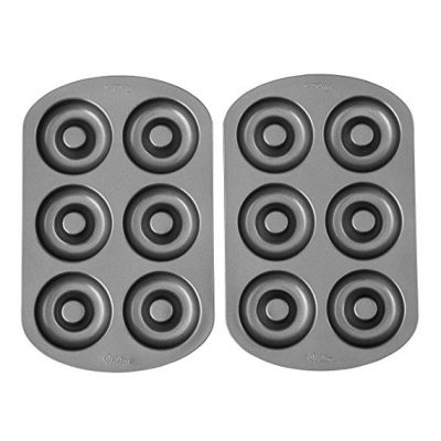 Wilton Non-stick 6-Cavity Donut Baking Pans: