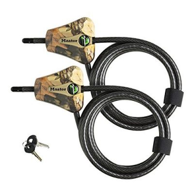 Master Lock Python Trail Camera Adjustable Camouflage Cable Locks 8418KA-2 CAMO: