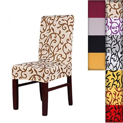 SHZONS™Super Fit Stretch Washable Dining Chair Cover: