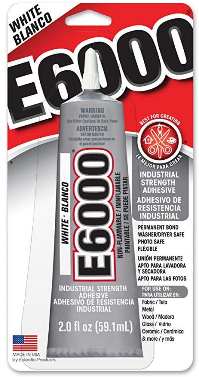 Eclectic E6000 Craft Adhesive, 2oz (White):