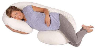Leachco Snoogle Pregnancy/Maternity Total Body Pillow, Ivory: