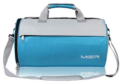 MIER Barrel Travel Sports Bag for Women and Men Small Gym Bag: