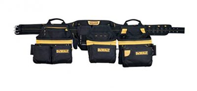 DEWALT DG5650 31-Pocket Professional Carpenter's Pro-combo Apron Tool Belt: