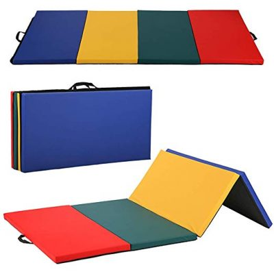 BestMassage 4'x8'x2 Gymnastics, Tumbling, and Fitness Exercise Mat R4CM: