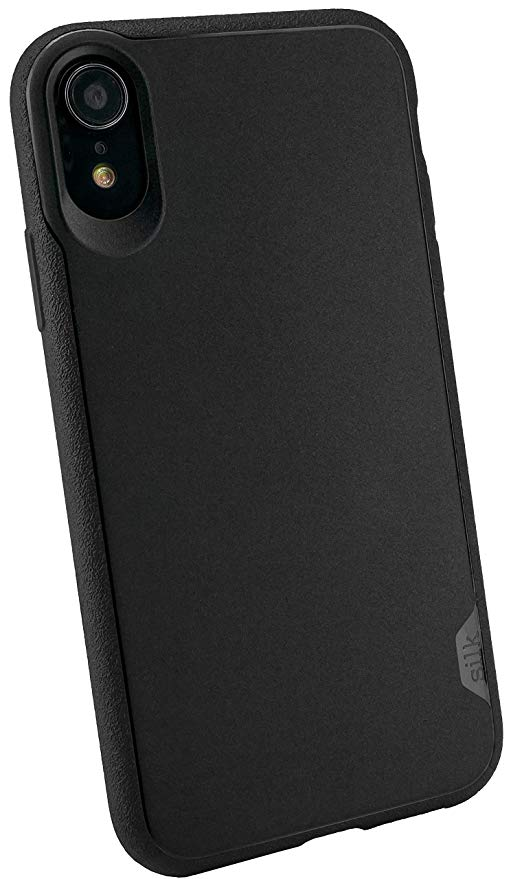Silk iPhone XR Grip Case - Kung Fu Grip [Lightweight Protective Base Grip Slim Cover] - Black Tie Affair: