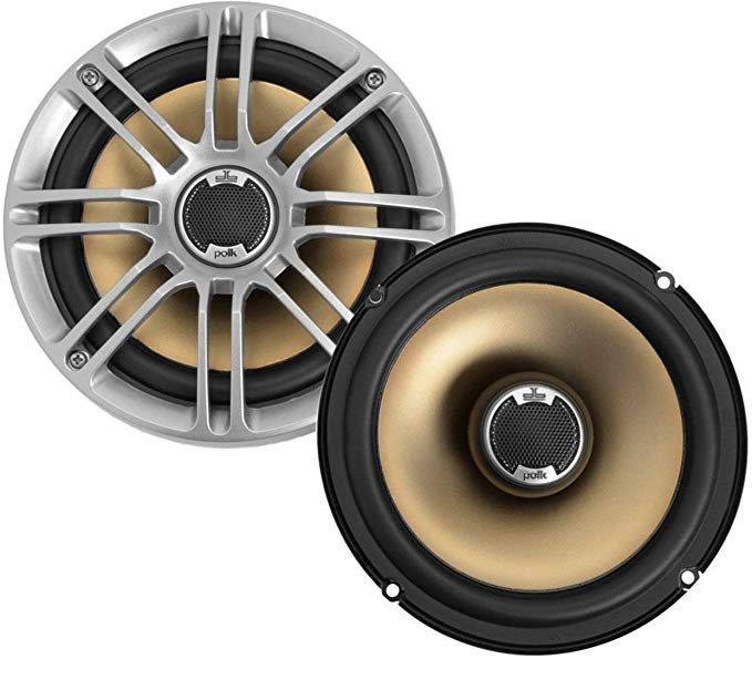 "Polk Audio DB651 6.5""/6.75"" Marine Certified db Series Speakers:"