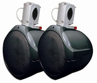 "MCM Custom Audio 60-10031 8"" Marine Wakeboard Speaker Pair (Black):"
