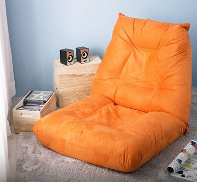 Merax Adjustable 5-Position Floor Chair Foldable Lazy Sofa Floor Chair: