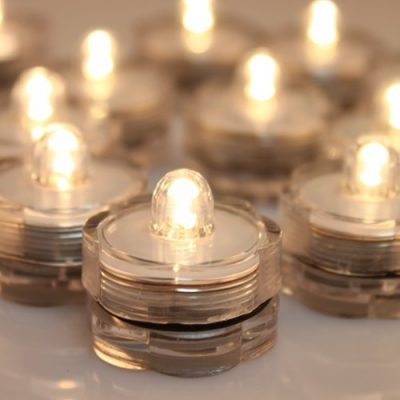 24x LED Submersible Waterproof Battery light Candles by AGPTEK: