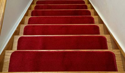 Comfy Collection Stair Tread Treads Indoor Skid Slip Resistant Carpet Stair Tread by RugStylesOnline: