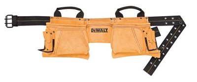 DEWALT DG5372 12-Pocket Carpenter's Suede Apron: