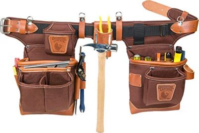 Occidental Leather 9855 Adjust-to-Fit Fat Lip Tool Bag Set – Cafe: