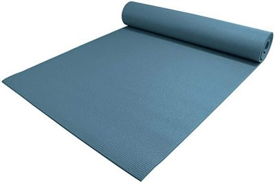 "YogaAccessories 1/4"" Thick High Density Deluxe Non Slip Exercise Pilates & Yoga Mat:"