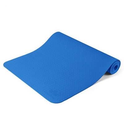 Non Slip Yoga Mat - Longer And Wider Than Other Exercise Mats by Clever Yoga: