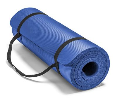 "Spoga Premium Extra Thick 72""24"" Long High Density Exercise Yoga Mat:"